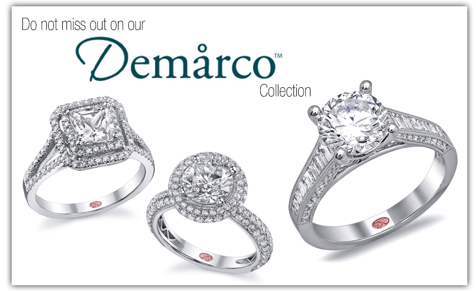 Demarco Designer Enagagment Rings Austin from Diamonds Above.